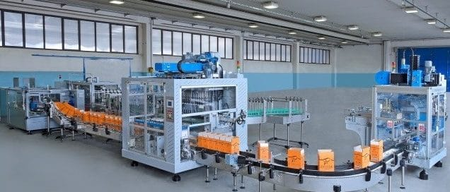 Dekontaminering af indpakning på rullebånd