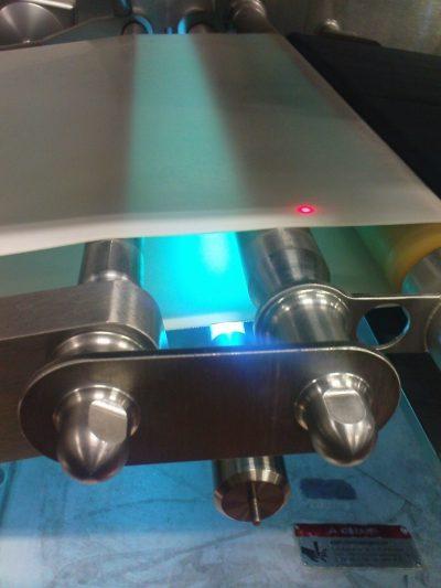 UVC installation på pakkelinie