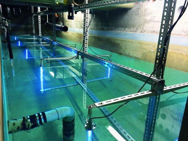 Desinfektion af Vandtank - dekontaminering med UV-C