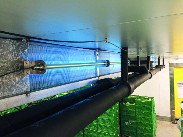 Ren luft i lager - luftdesinfektion med UV-C