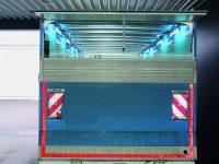 dekontaminering af Lastrum i lastbil med UV-C lys